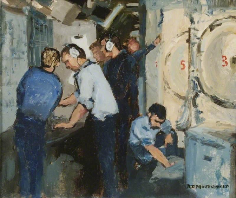 Missile Deck of HMS 'Renown'