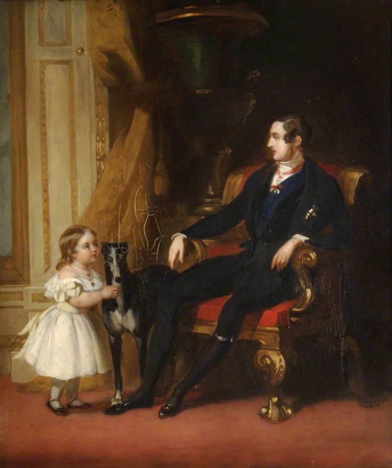Prince Albert (1819–1861), Princess Royal and Eos
