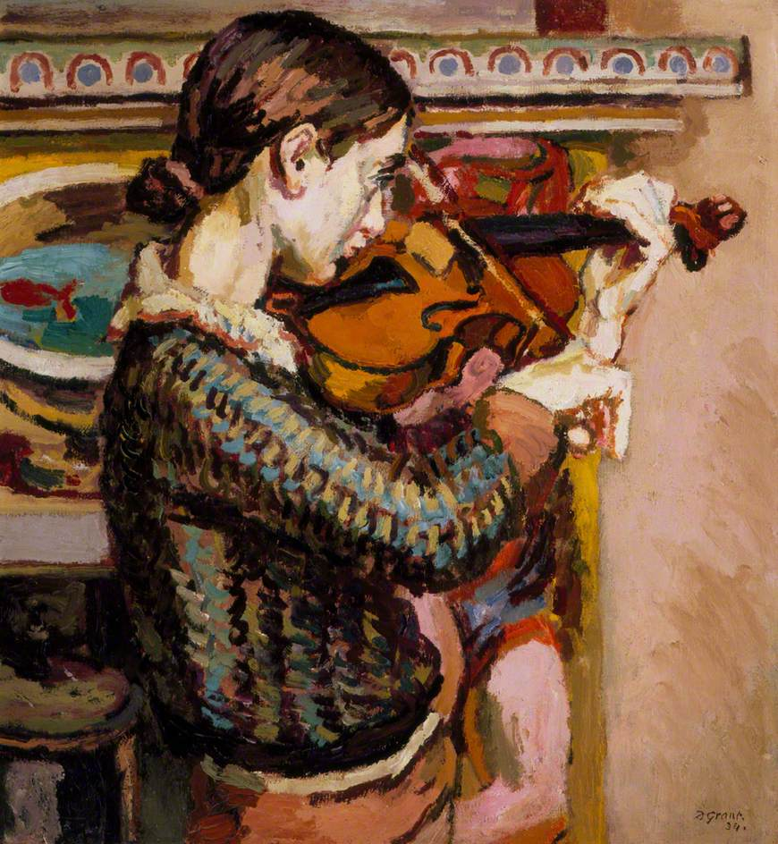 Angelica Playing the Violin