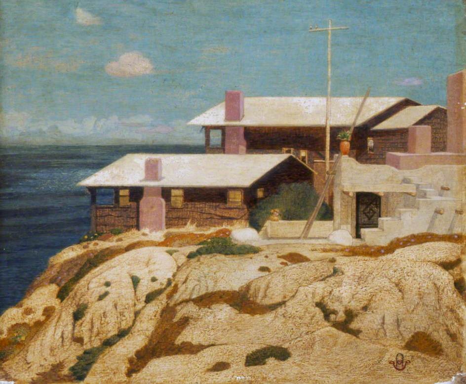 'Pacific Patterns', the Artist's House at Berkeley, California