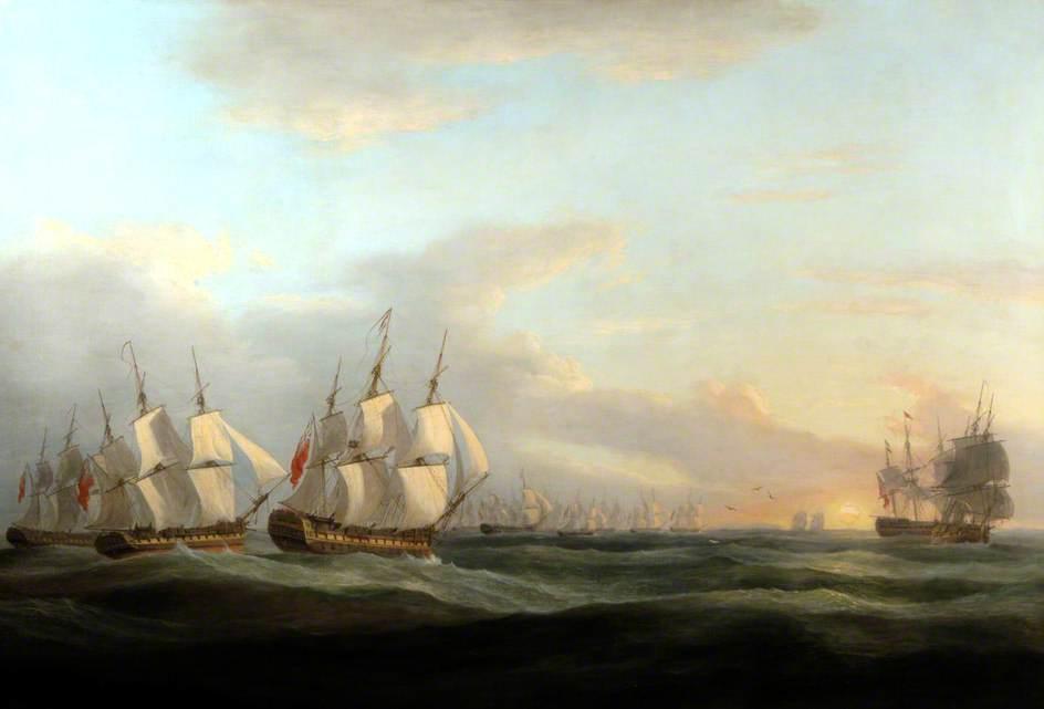 Departure of the Fleet