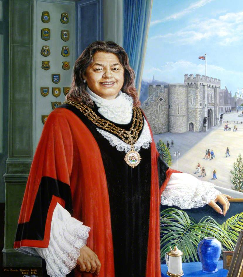 Councillor Parvin Damani, MBE, Mayor of Southampton (2003)