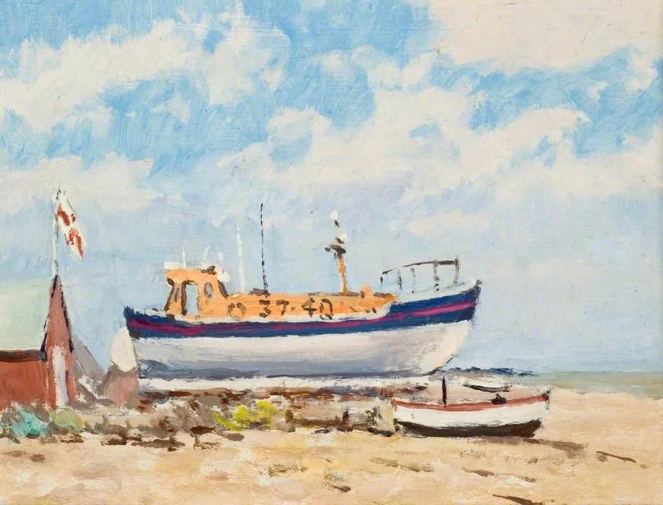 Aldeburgh Lifeboat, 28 April 1975