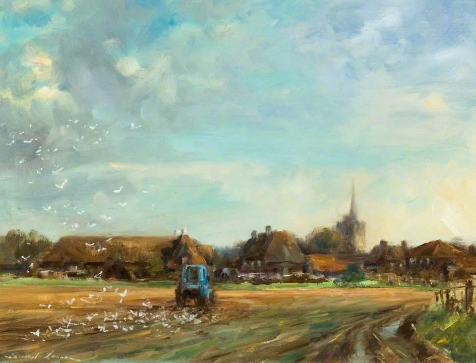 Spring Ploughing, Aldenham