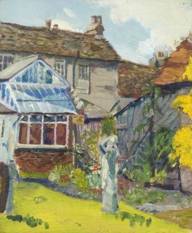 Back Garden of Miss Lucy Kemp-Welch's House, Bushey
