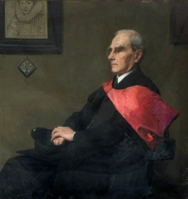Mr R. F. Cholmeley (d.1947), Headmaster (1909–1927)