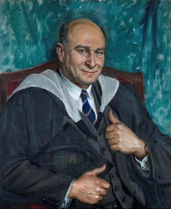 Mr E. H. Burrough, Headmaster (1955–1962)