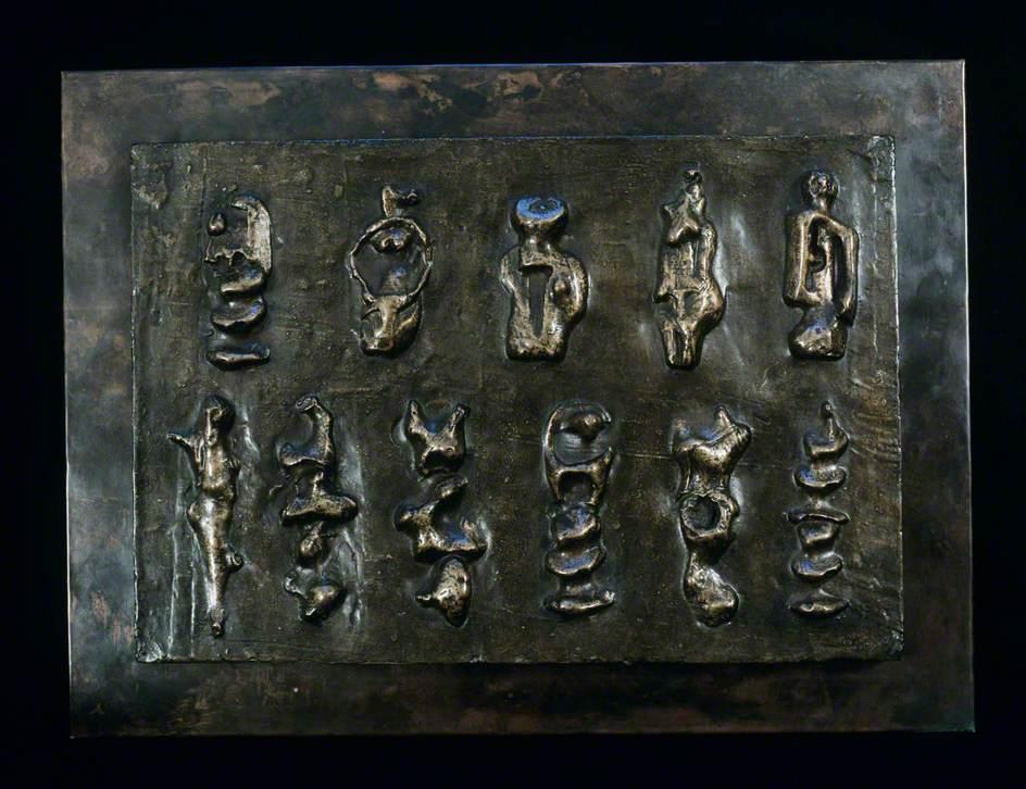 Wall Relief: Maquette No. 3