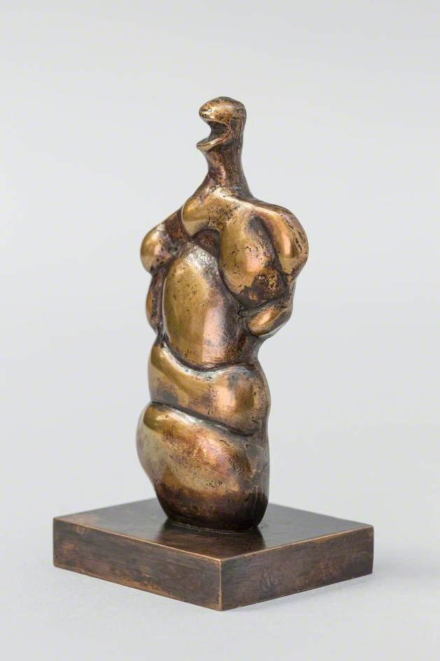 Three-Quarter Woman