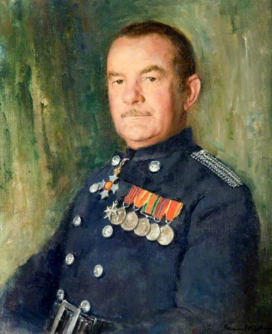 G. V. Blackstone (1910–1989), CBE, GM, QFSM, Chief Fire Officer for Hertfordshire (1948–1971)