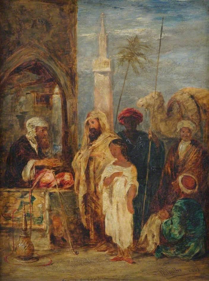 Middle Eastern Scene