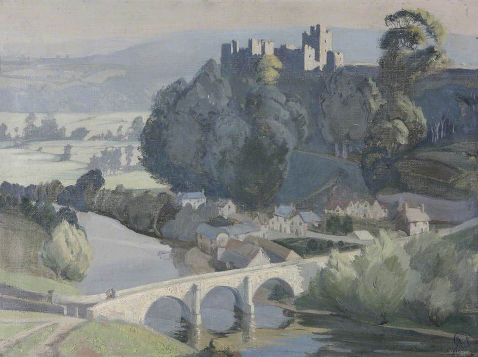 Ludlow Castle, Early Morning
