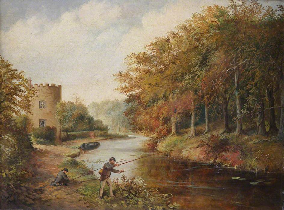 Canal at Gothersley, Staffordshire
