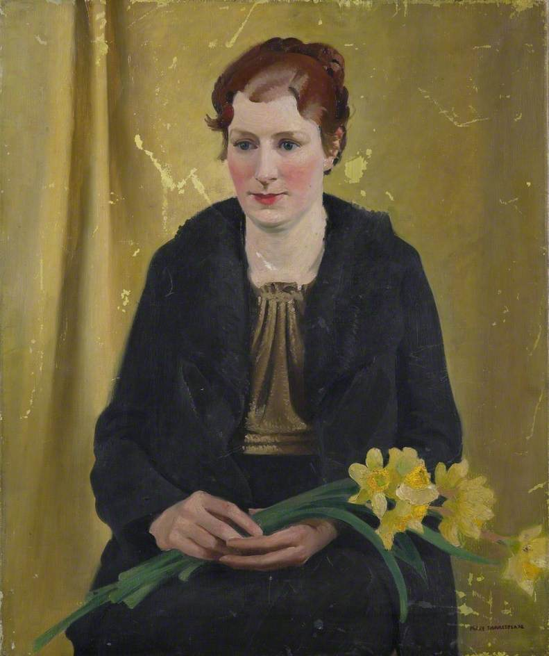 Girl with Daffodils