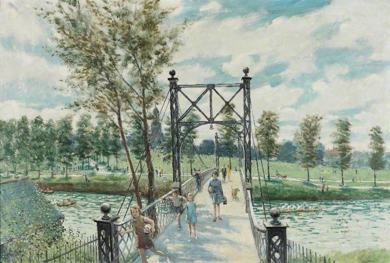 Bridge to the Quarry, Shrewsbury