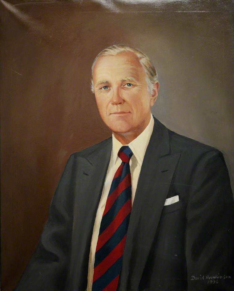 Gustavus Hamilton-Russell (1931–1995), 10th Viscount Boyne, Lord Lieutenant of Shropshire (1994–1995)