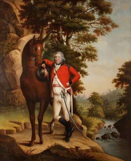 Colonel William Cludde, Shropshire Yeomanry Cavalry