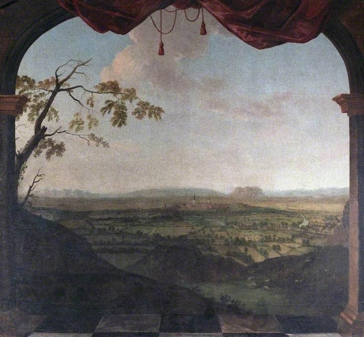 Panoramic View of Shrewsbury (Western Prospect), Shropshire