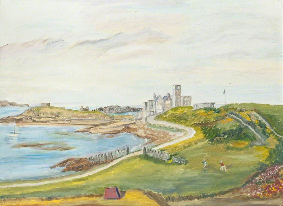 View from the Golf Links, Castletown