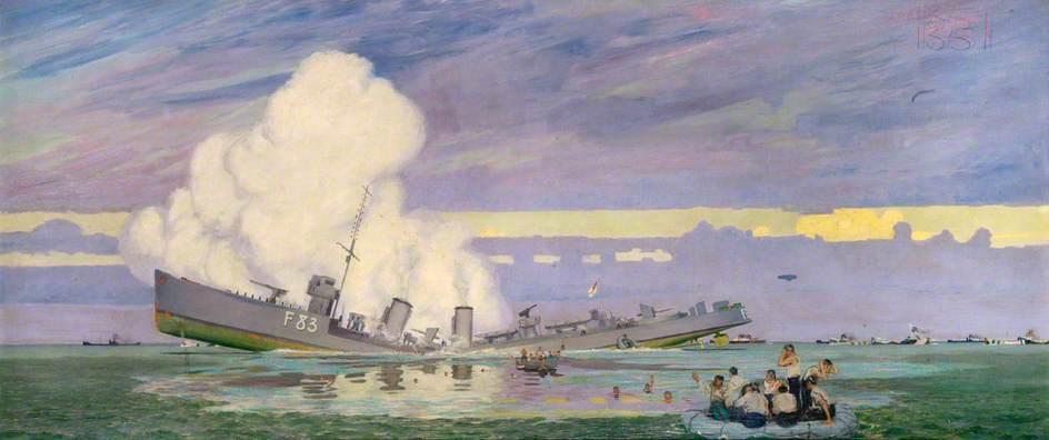 HMS 'Ullswater': A Destroyer Torpedoed