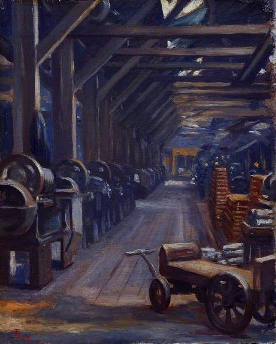 The Luncheon Hour: The Belgian Steel Factory, Goldhawk Road, W12
