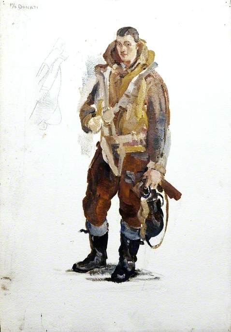 Pilot Officer Donati: Portrait of a Flyer IV