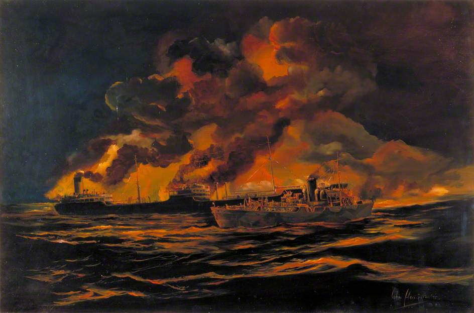 The Sinking of SS 'Bedouin', 16 March 1941