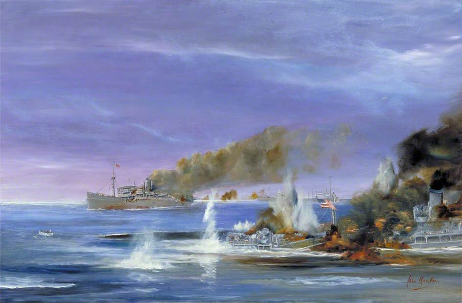 Last Stand of the SS 'Stephen Hopkins'