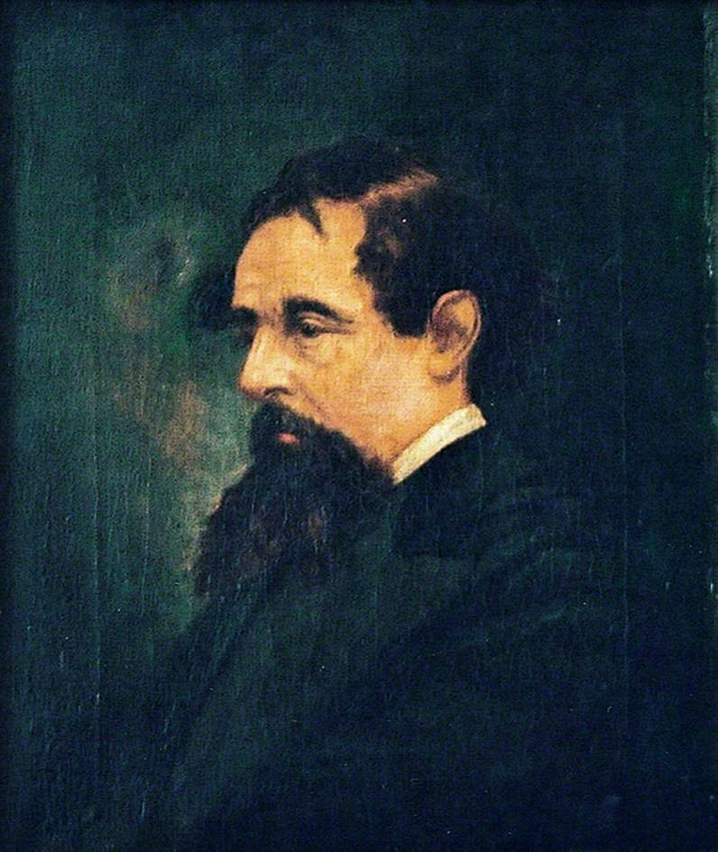 Charles Dickens (1812–1870), Aged Late 40s