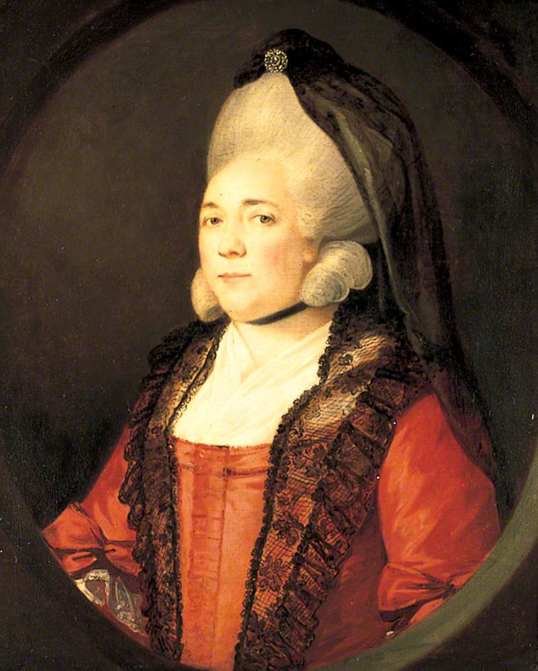 Mrs Burbridge of Staverton Hall, Northamptonshire