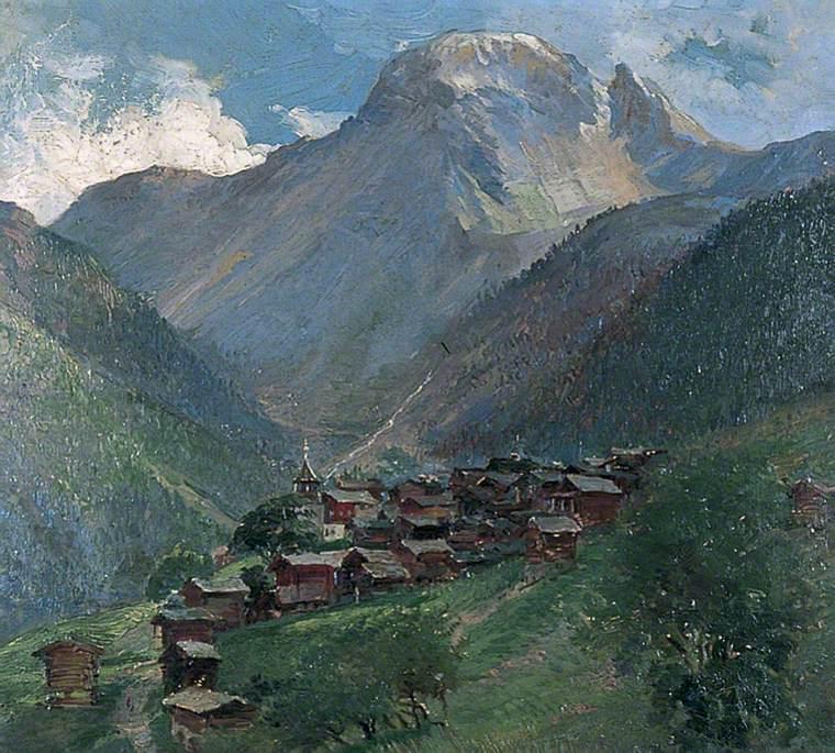The Scex de Marinda and Val de Moiry, Grimentz, Switzerland
