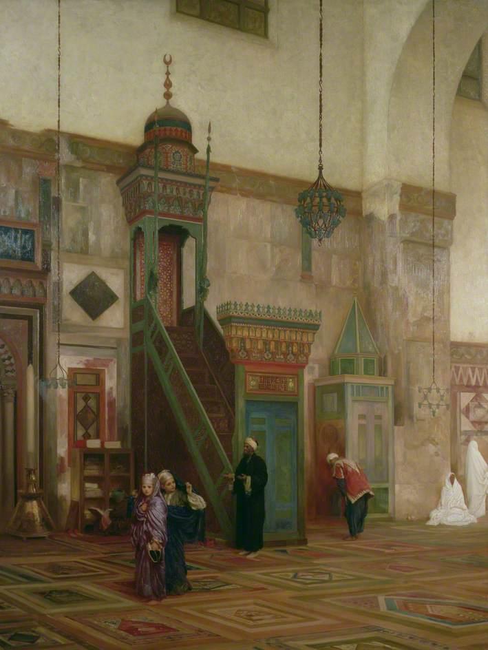 Interior of the Grand Mosque, Damascus