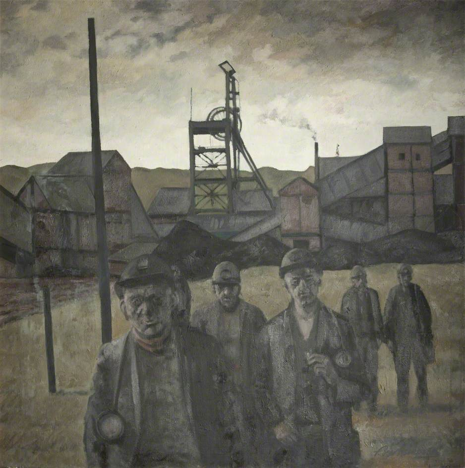 Miners, Hapton Valley