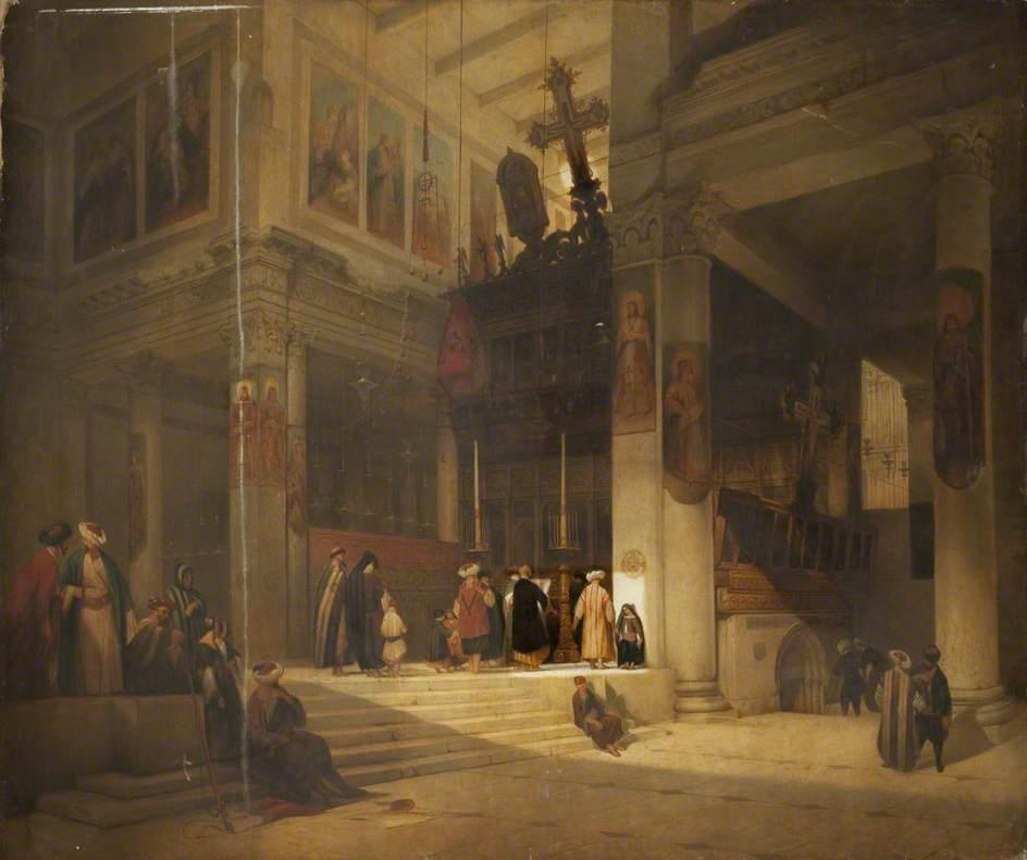 Moorish Church Interior (Eastern Church)