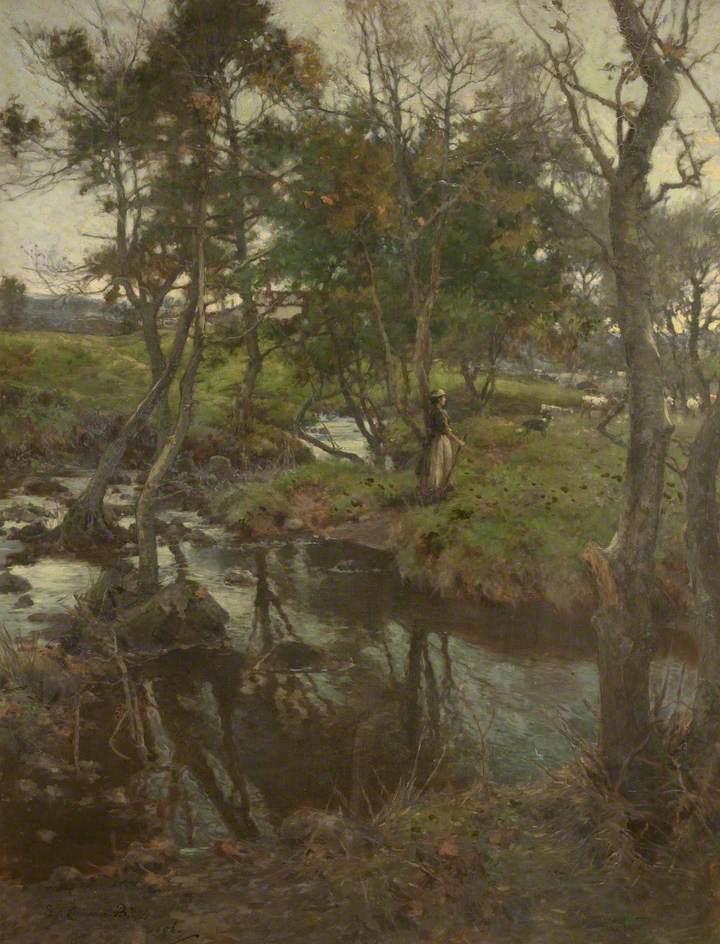 Evensong: the Brook at Halton Green