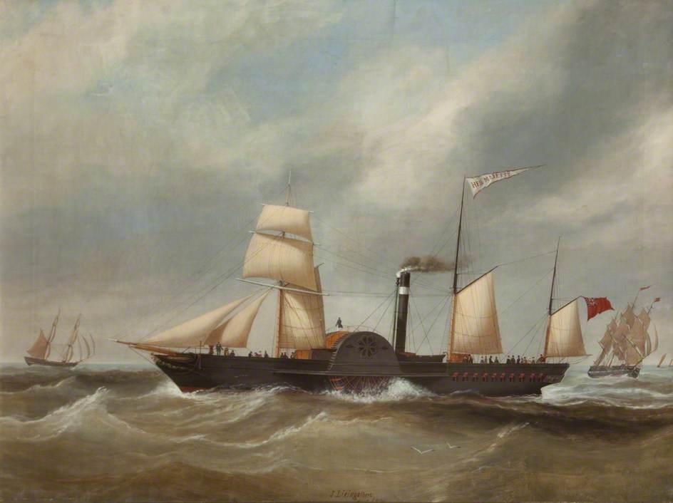 'Her Majesty' Paddle Steamer
