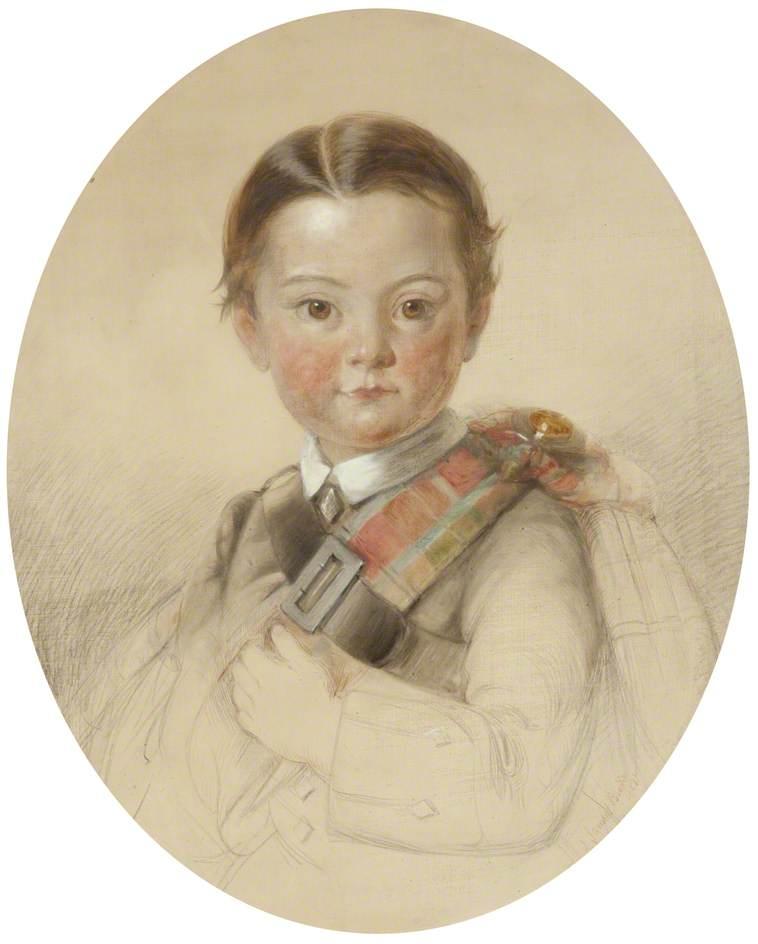 Portrait of a Boy in Highland Dress