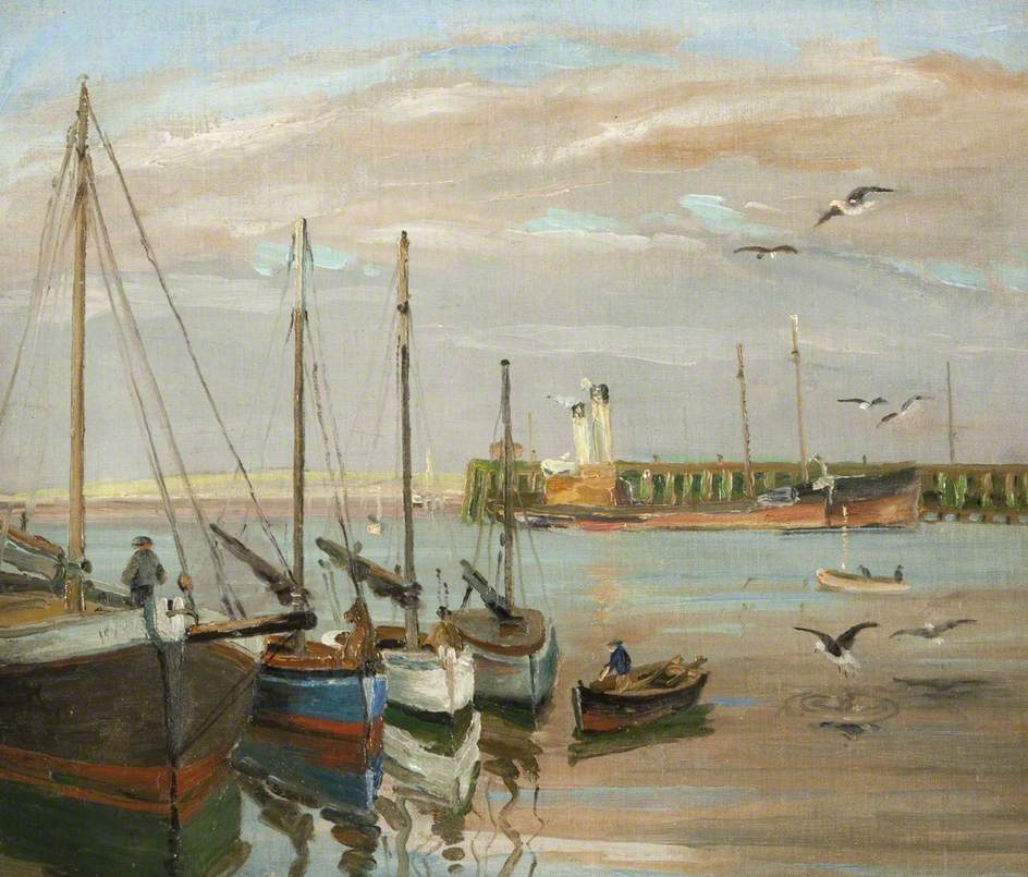 Docked Trawlers, Fleetwood
