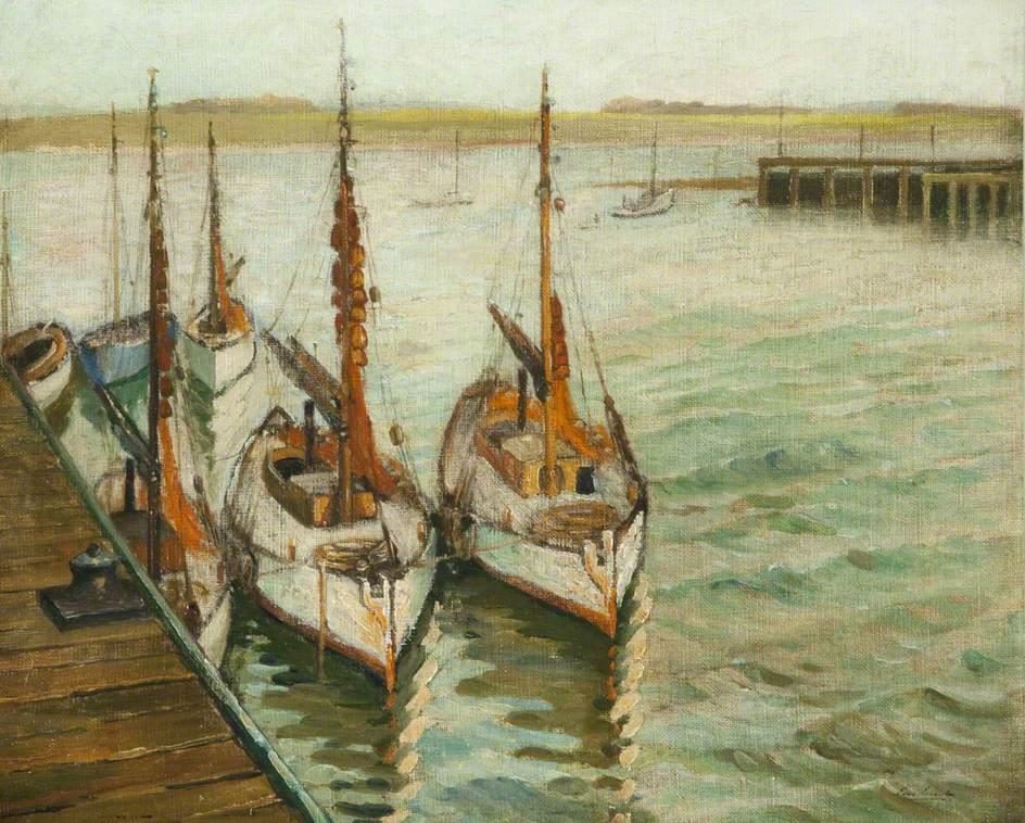 Trawlers, Fleetwood Dock