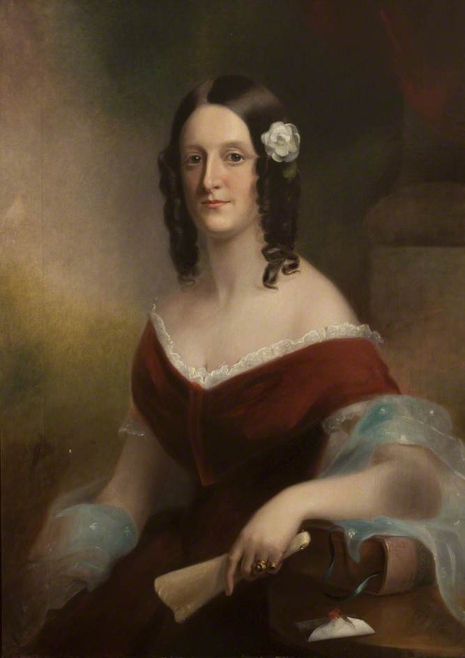 Georgiana Hulton, Wife of William Ford