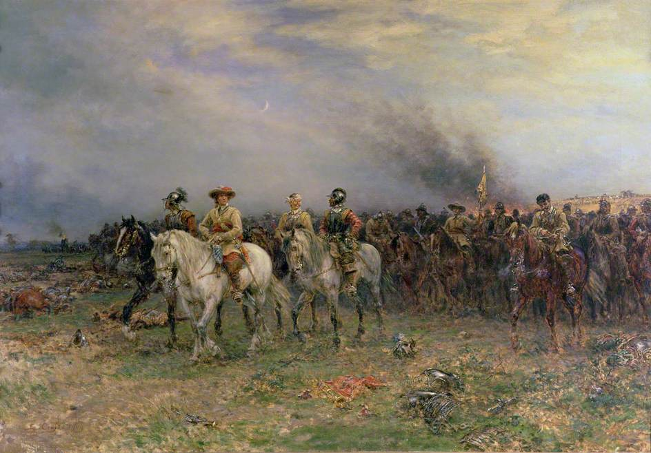 Cromwell after the Battle of Marston Moor