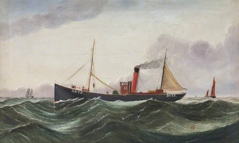 Fishing Boat 'Alsatian' BN73