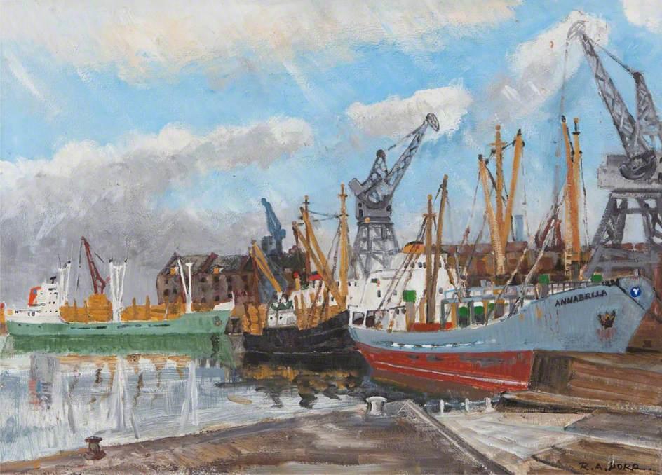 Boston Dock, Lincolnshire