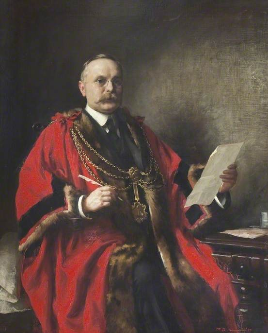 Frank Barrett, Mayor of Grimsby (1908 & 1924)