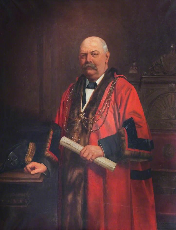 Robert William Roberts, Mayor of Grimsby (1909)