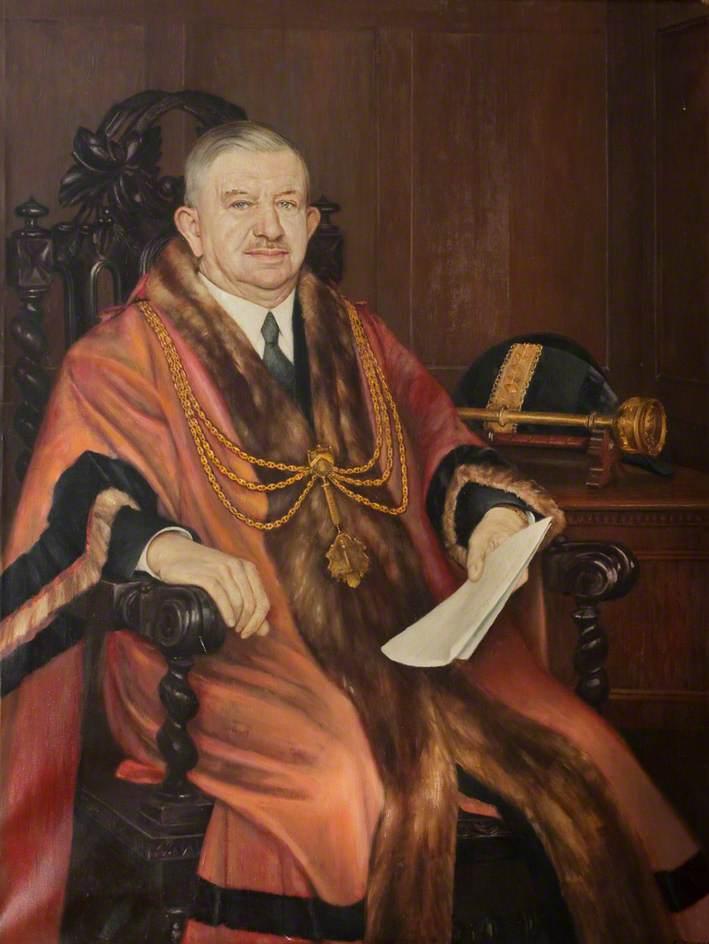 Alderman C. W. Hewson, JP, Mayor of Grimsby (1944–1945)