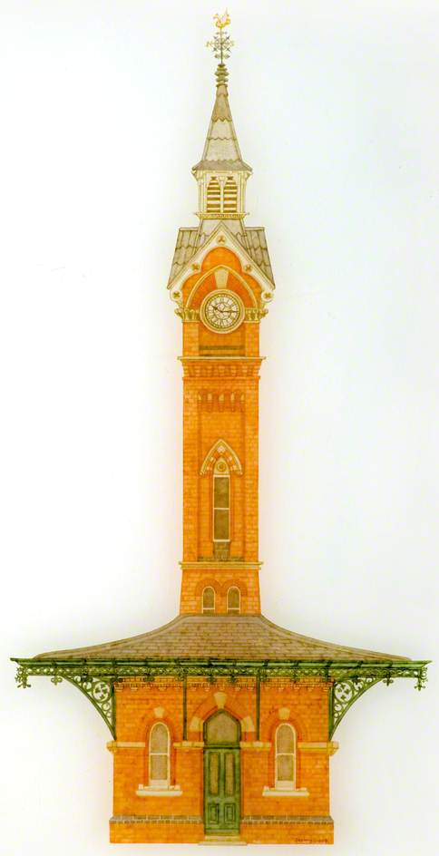 Cattle Market Clock Tower, Leicester