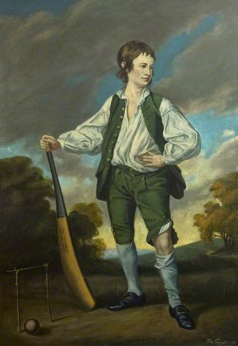 Lewis Cage, Aged 13, 1763