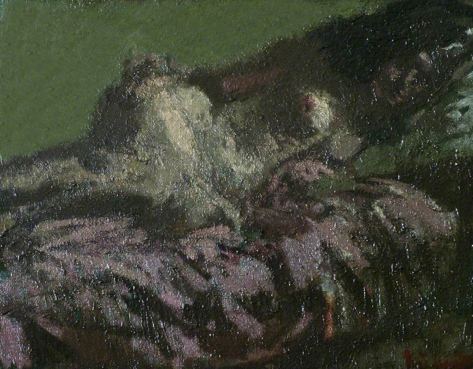 Nude Figure Reclining