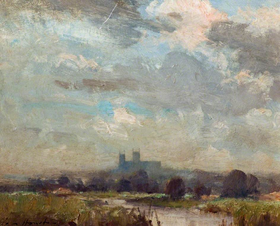 Lincoln Cathedral from the Water Meadows